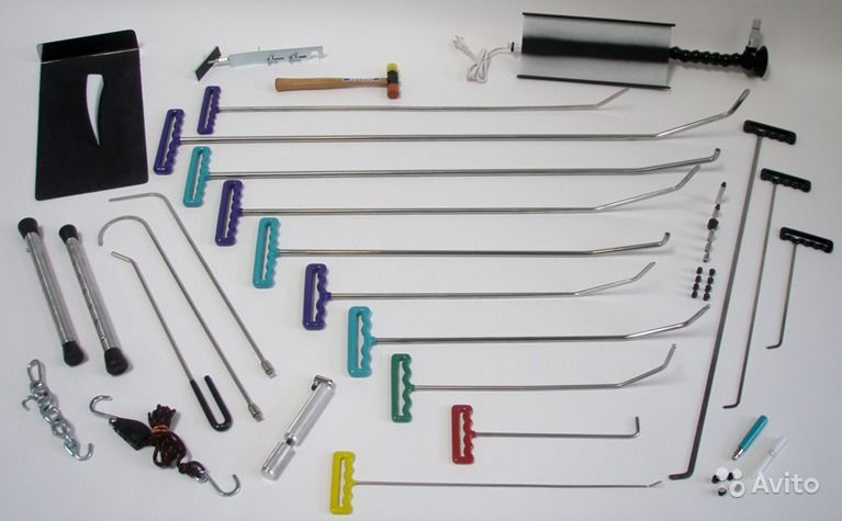 Инструмент для удаления вмятин сделать своими руками 36