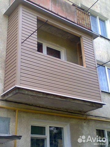 Обшивка балконов сэндвич панелями в нальчике.