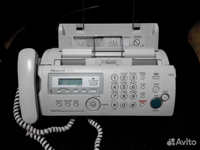 Факсы Panasonic - KX-FP218,