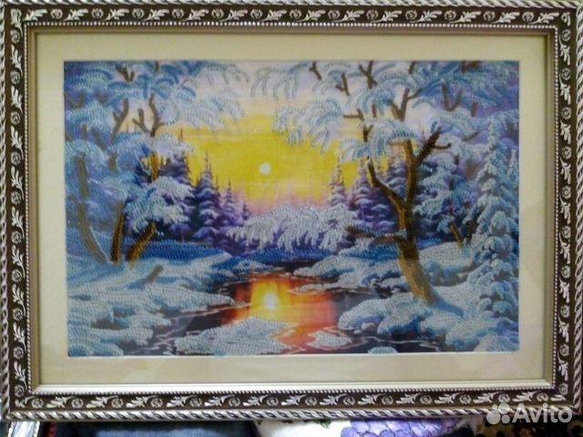 За сколько можно продать картину вышивку крестом 94