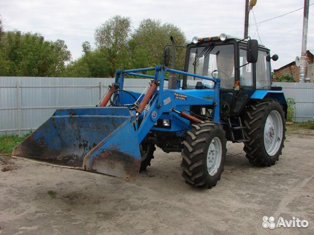 Фотография 1. Трактор мтз 82 - фотография 1.