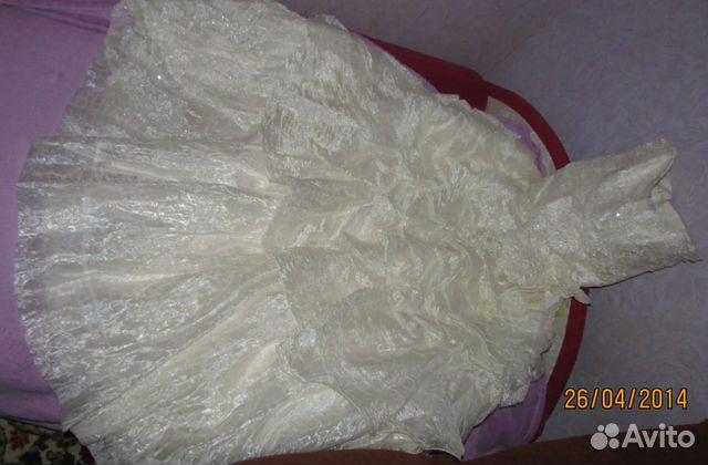 Объявление о продаже Свадебное платье в Краснодарском крае на Avito. очень красивое пышное платье на корсете...
