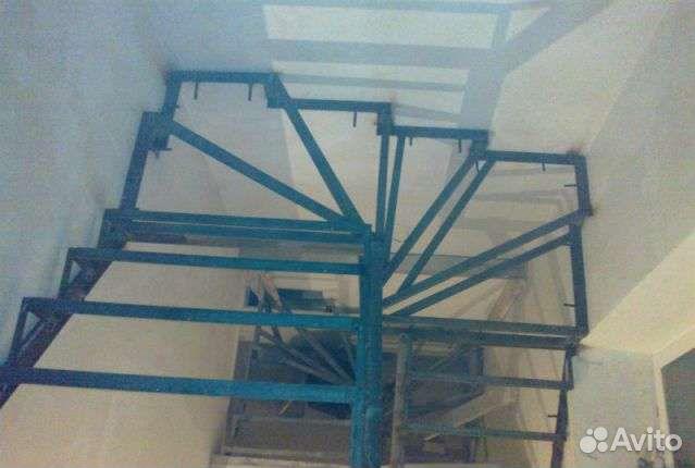 Металлический каркас для лестницы своими руками фото