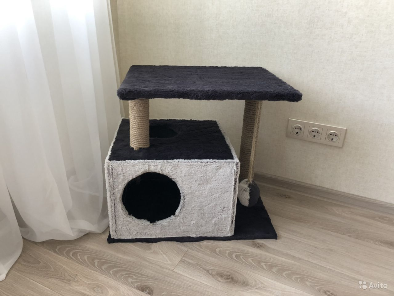 Дом для кошки ручной работы