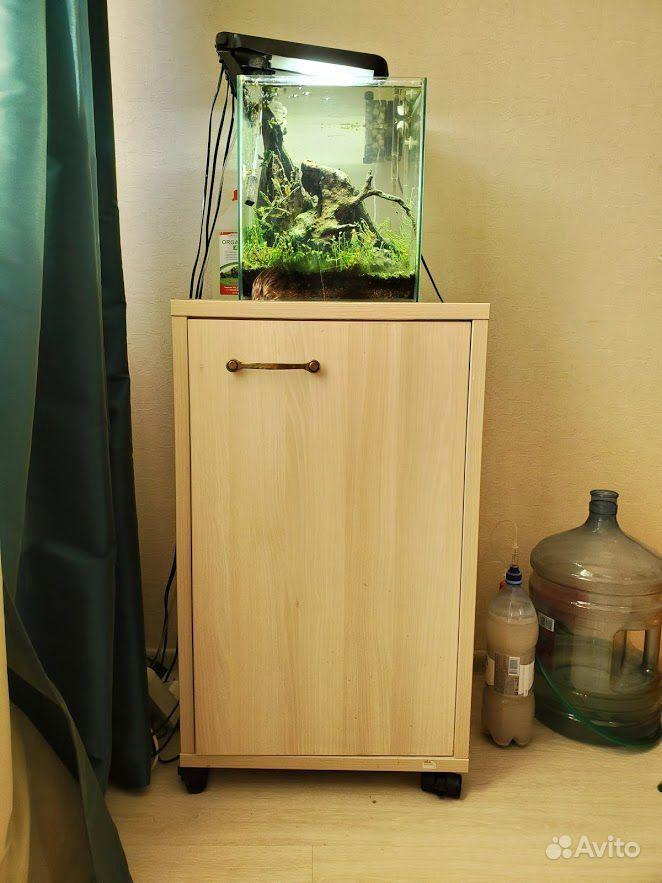 Аквариум 35 литров + оборудование + тумба купить на Зозу.ру - фотография № 3