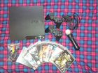 PS3 PlayStation 3 320Gb+ PS Move+ 2 джойстика+ 9 и