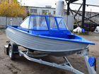 Моторная лодка алюминиевая Неман 450 DC New