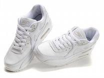 Кроссовки Nike Air Max 90 белые - Купить одежду и обувь в Москве на ... 24855ff435b