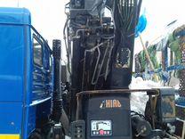 Камаз 65117 с манипулятором Hiab 244-7