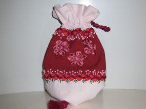 Декоративный мешочек для мелочей