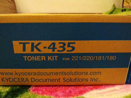 Kyocera taskalfa tk-435 тонер объявление продам