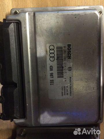 Блок управления двигателем Ауди 4D0907551— фотография №1