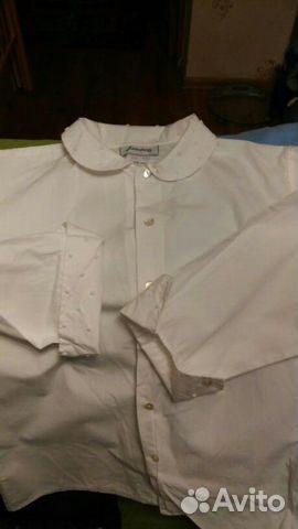 f427eab2fcb Кофта рубашка белая для школы на рост 150 купить в Санкт-Петербурге ...