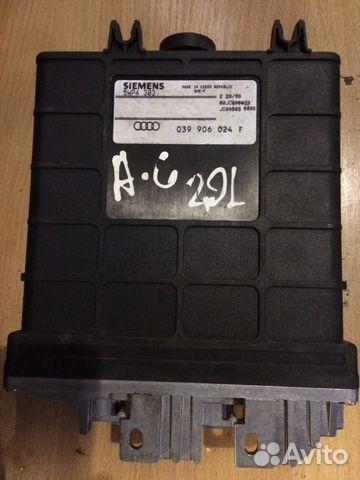 Блок управления двигателем Ауди 039906024F— фотография №1