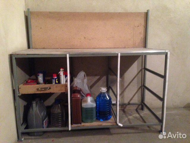 Купить верстак в гараж на авито воронеж утеплил крышу железного гаража