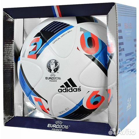 Мяч футбольный Adidas Euro 2016 OMB AC5415  8f330e0a57729