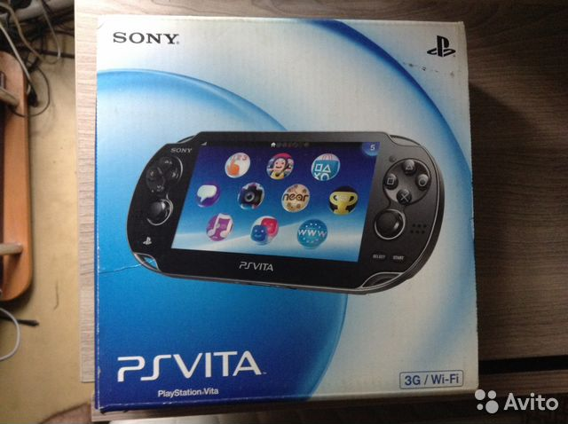 PS Vita 3GWiFi  storesonyru