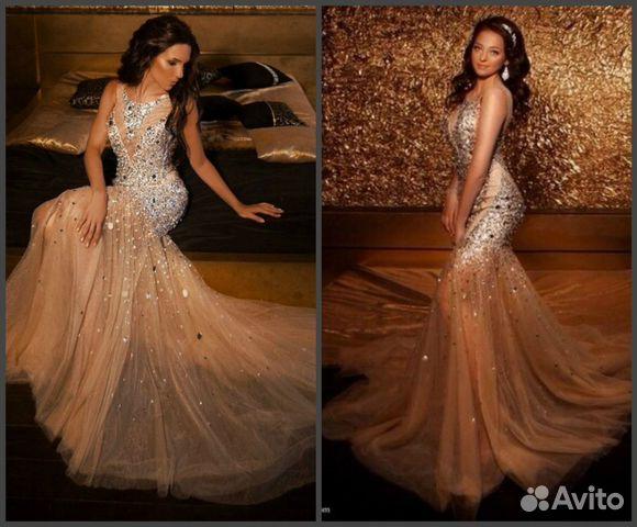 Авито спб вечернее платье