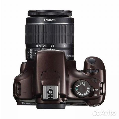 Продам Canon 1100 + EFS 18-55 mm— фотография №2