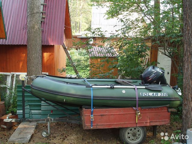 продажа лодок солар в перми