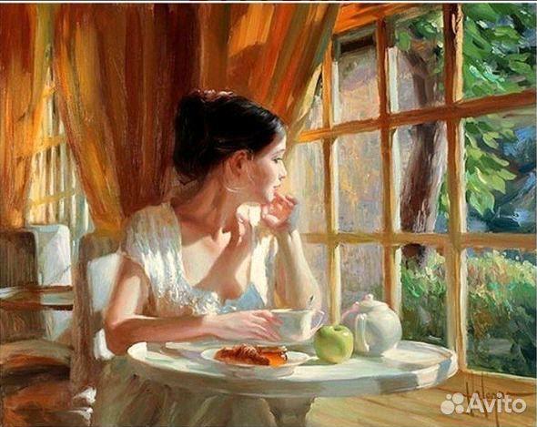 Раскраска за завтраком