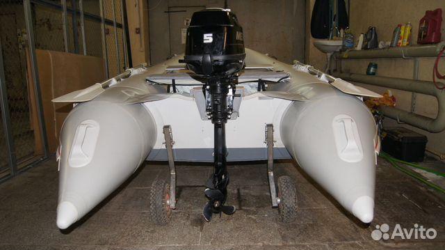 продать лодку с мотором на авито