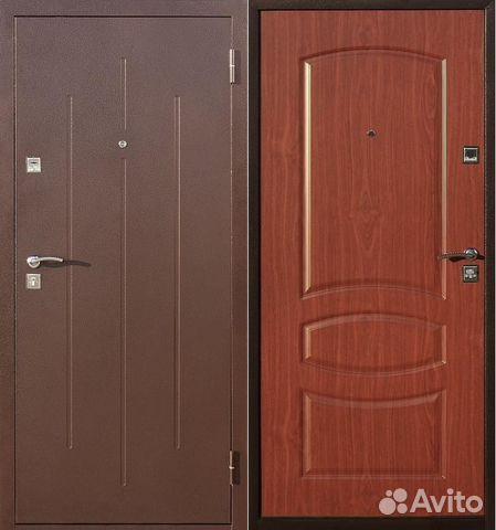 металическая дверь входная стандарт