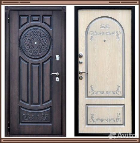 входные двери венг беленый дуб