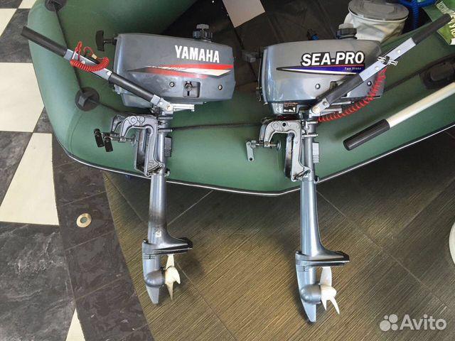 мотор на лодку японский