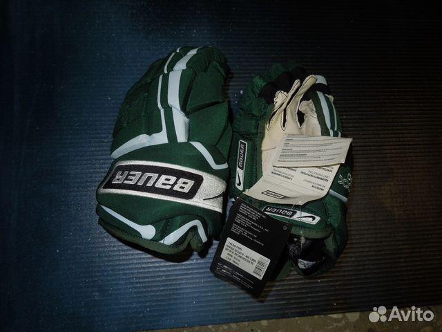 Перчатки игрока nike- bauer vapor хххx PRO green 89136418851 купить 1