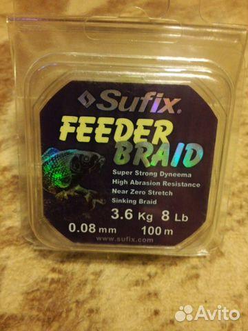 плетенка для фидера до 120 гр