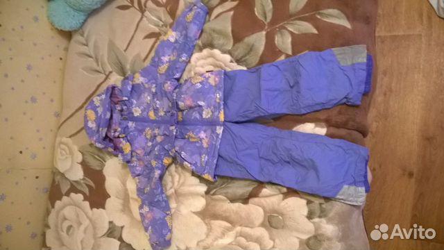 Демисезонный костюм crockid для девочки