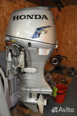 двигатель лодочный honda avito