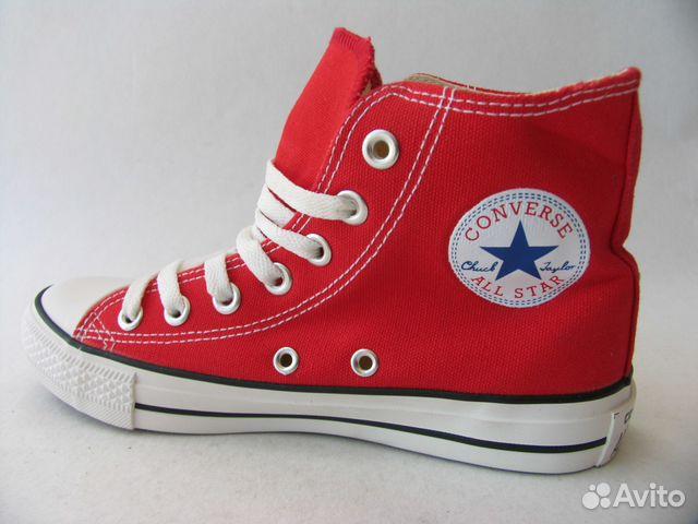 69828d776991 Кеды Converse All Star Красные Высокие 36 купить в Санкт-Петербурге ...