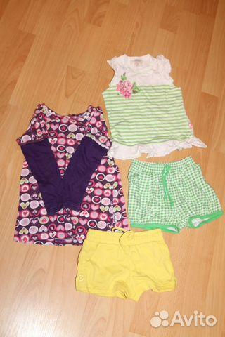 83d9b1db9ee7e77 Летние вещи для девочки купить в Свердловской области на Avito ...
