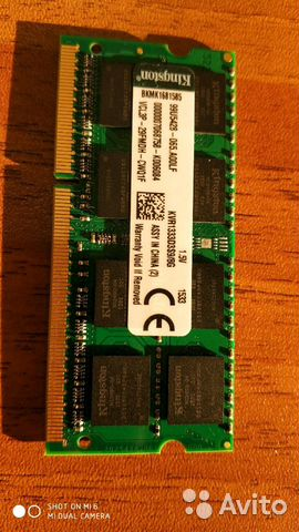 Kingston valueram KVR1333D3S9/8G