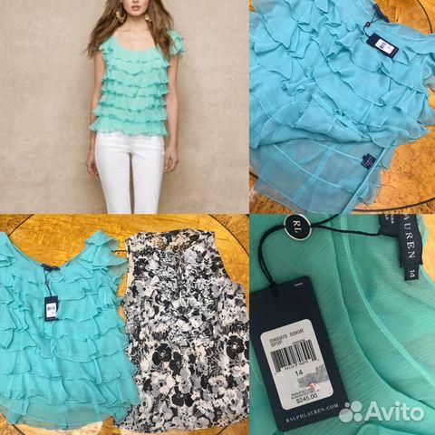 5fa69d332275 Ralph lauren Burberry 46-48 яя шелк блуза юбка купить в Санкт ...