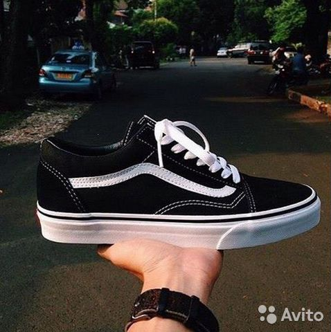 f48c7722 Кеды Vans Old Skool Black/White (ванс олд скул) | Festima.Ru ...