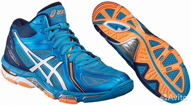 6aa2e6a33 Волейбольные кроссовки asics GEL-volley elite3 MT— фотография №1
