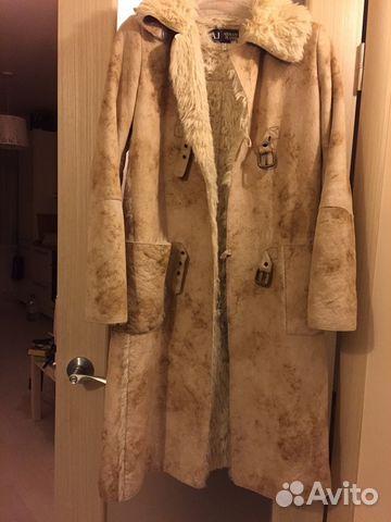 Дубленка пальто armani jeans купить в Санкт-Петербурге на Avito ... a34bf338e7e
