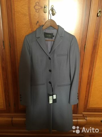 a853fca8b873 Пальто женское Calvin Klein