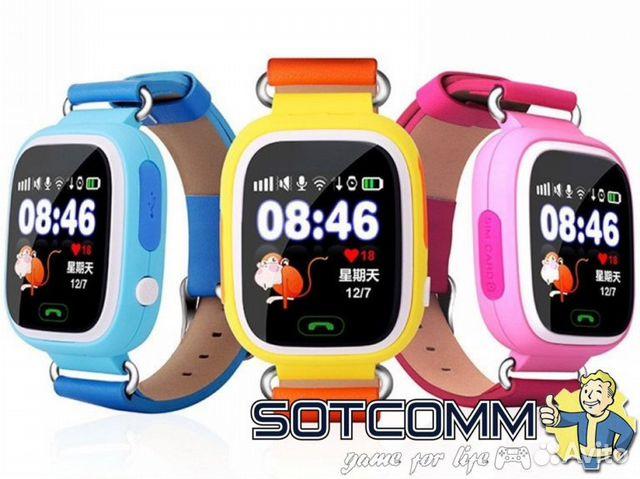 20ffed04fa6d Детские смарт часы Wonlex Smart baby watch Q80   Festima.Ru ...