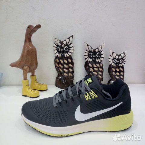 b6604572 Мужские беговые кроссовки Nike серые купить в Москве на Avito ...