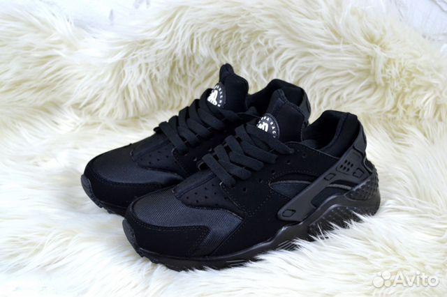 cab524ae Кроссовки женские Nike AirHuarache black а. 104007 | Festima.Ru ...