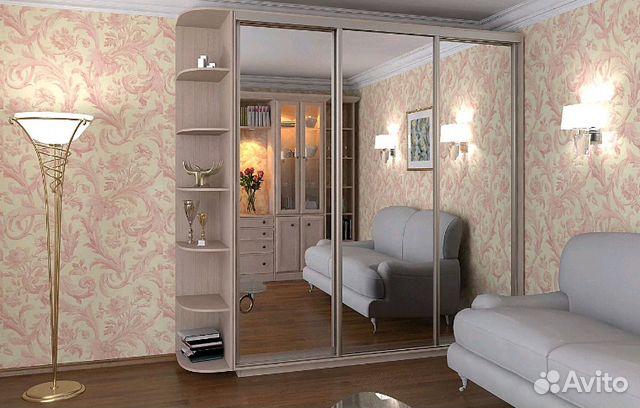 зеркальный шкаф купе быстро доставим и соберем купить в московской