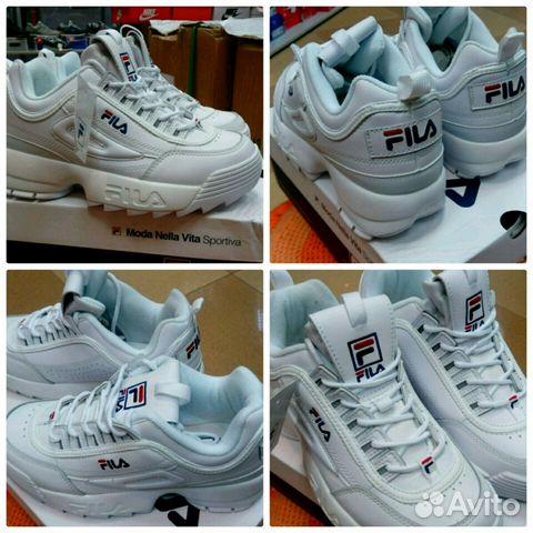3f821eb43e1d Модные женские кроссовки fila купить в Новосибирской области на ...