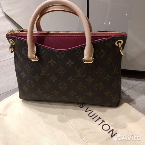 bd381ecfe76c Сумка Louis Vuitton Pallas Aurore люкс купить в Москве на Avito ...