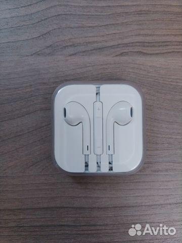 Оригинальные новые наушники Apple EarPods купить в Москве на Avito ... af25eee0cc667