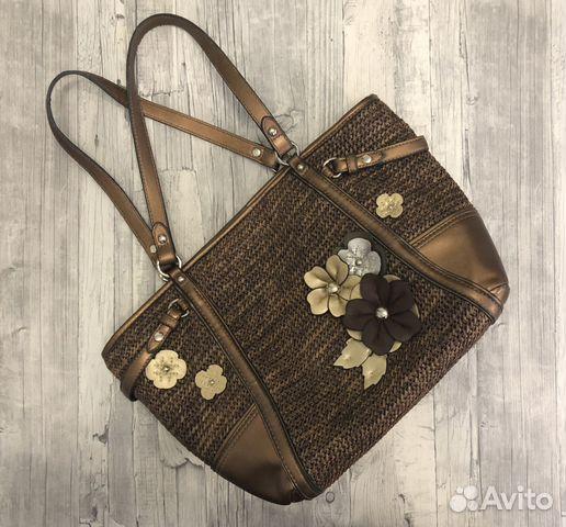 668ace857ea8 Плетёная пляжная сумка купить в Москве на Avito — Объявления на ...