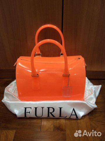 42e0611b543a Furla оранжевая сумка. Оригинал купить в Москве на Avito ...